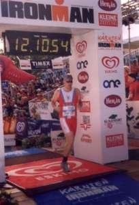 Ironman Klagenfurt-cíl