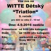 Witte dětský triatlon @ Nejdek